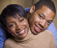 counseling young african american couple