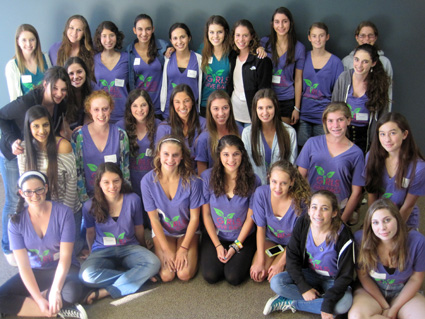 Girls Give Back Retreat 2013